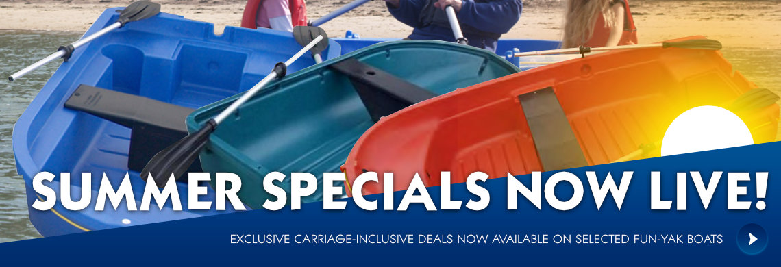 Fun Yak - Fastest selling dinghies in the UK  Exclusive